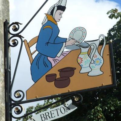 A. Breton (porcelaines-faïences) - Quimper