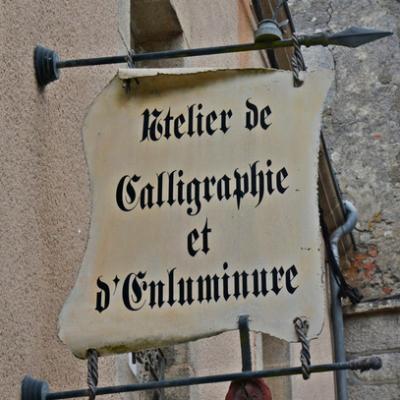 Atelier de calligraphie et d'enluminure - Guérande