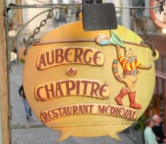 Auberge du chapitre (restaurant médiéval) - Rennes