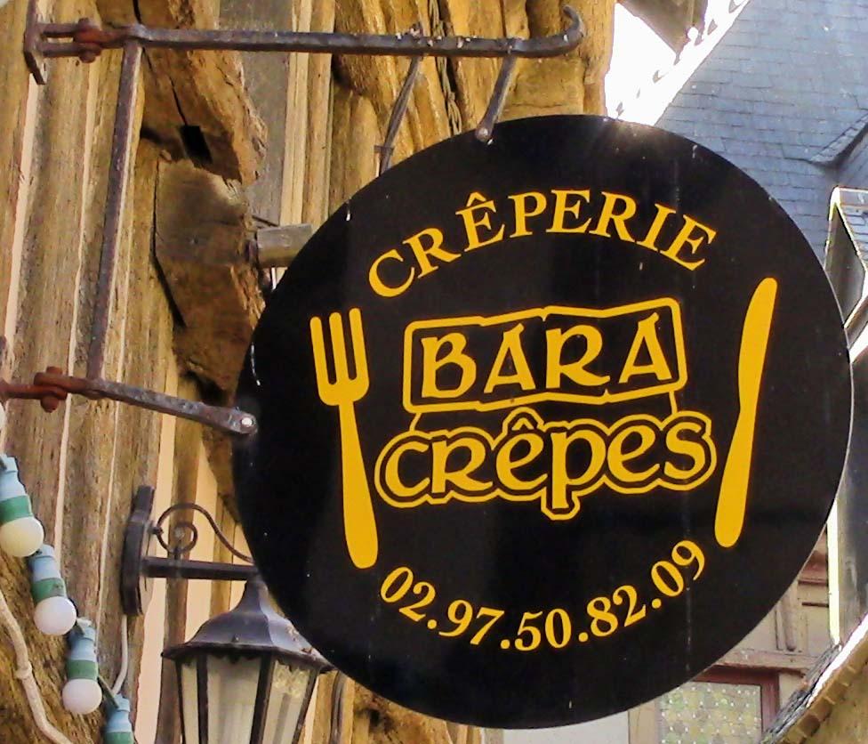 Bar à Crêpes (Crêperie) - Auray