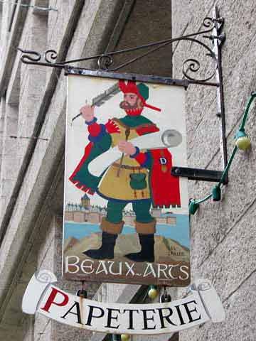 Beaux-Arts (papeterie) - Saint Malo