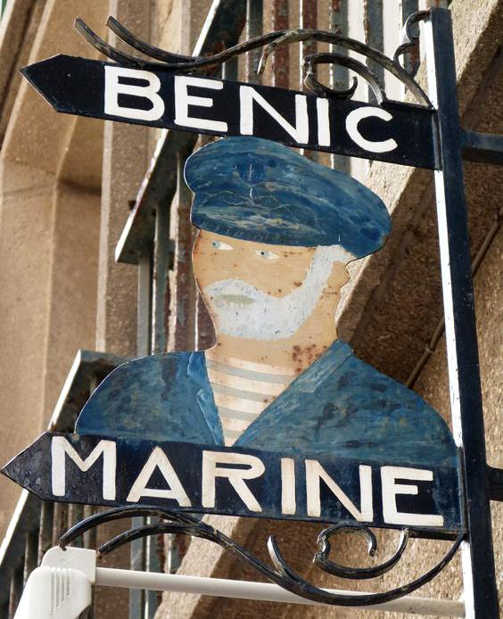 Bénic marine (vêtements marins) - Saint Malo