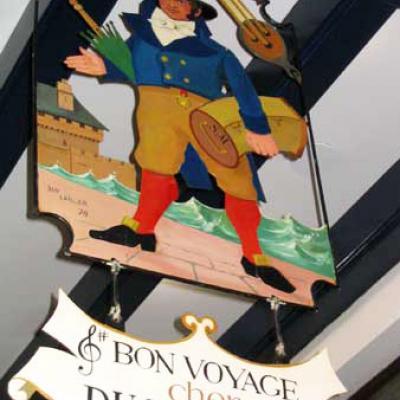 Bon voyage cher Du Mollet (brasserie) - Saint Malo