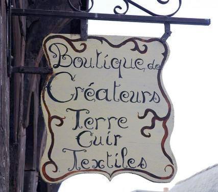 Boutique de créateurs, terre cuite, textiles) - Tréguier