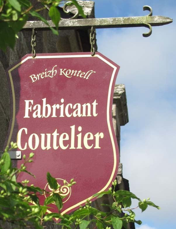 Breizh Kontell (fabricant coutelier) - Locronan