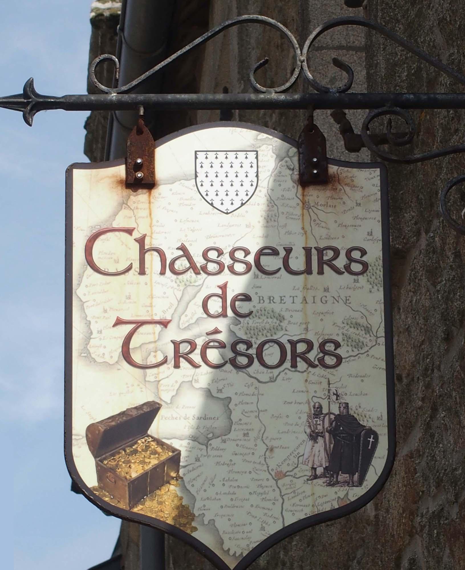 Chasseurs de trésors - Locronan