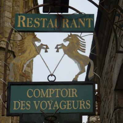 Comptoir des voyageurs (restaurant) - Locronan