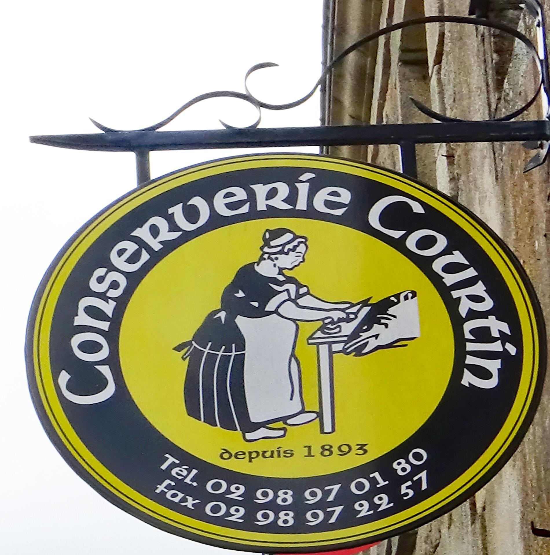 Concarneau - Conserverie Courtin