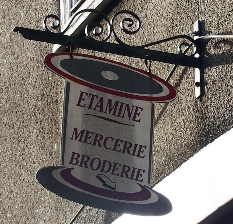 Etamine - Mercerie - Broderie - Dinan
