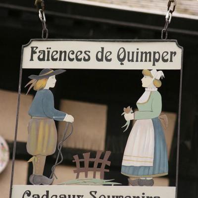 Faïences de Quimper (cadeaux-souvenirs) - Quimper