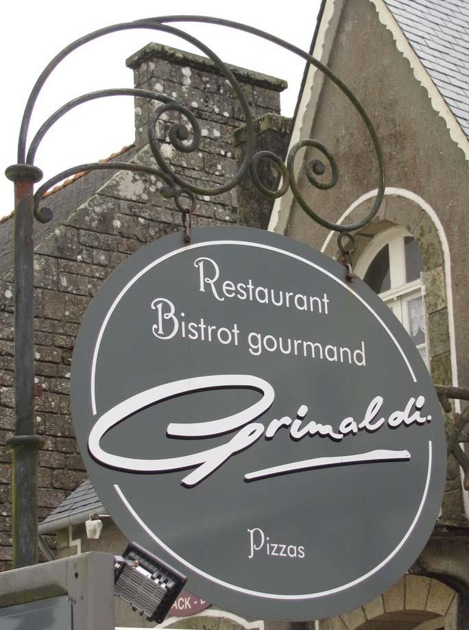 Grimaldi (restaurant-bistrop groumand-pizzas) - Locronan