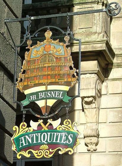 JH Busnel (antiquités) - Saint Malo