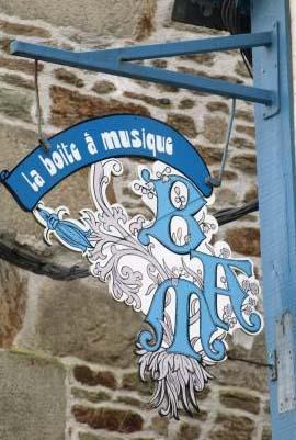 La boite à musique (magasin de musique) - Quimper