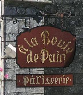 La boule de pain (pâtisserie) - Guérande