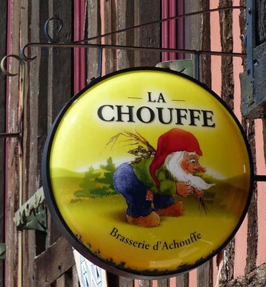 La chouffe - brasserie d'Achouffe - Dol de Bretagne