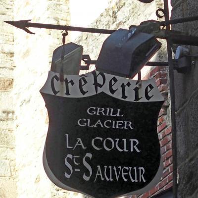 La Cour St Sauveur (crêperie-grill-glacier) - Dinan
