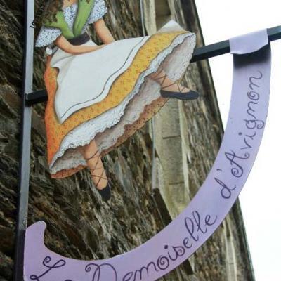 La demoiselle d'Avignon (décoration intérieure) - Rochefort en Terre