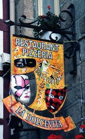 La dolce vita (restaurant-pizzeria) - Morlaix
