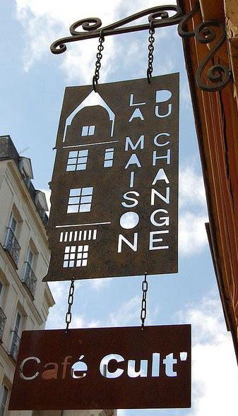 La maison du change - Café cult' - Nantes