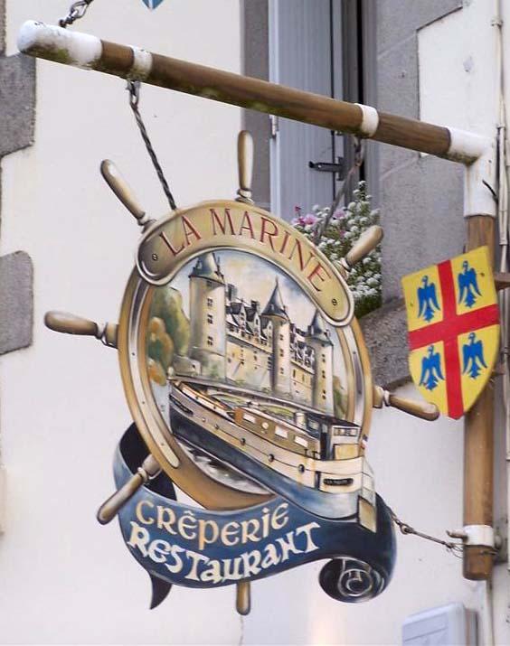 La Marine (crêperie-restaurant) - Josselin