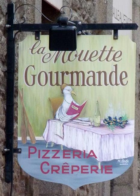 La mouette gourlande (pizzeria-creperie) - Saint Malo