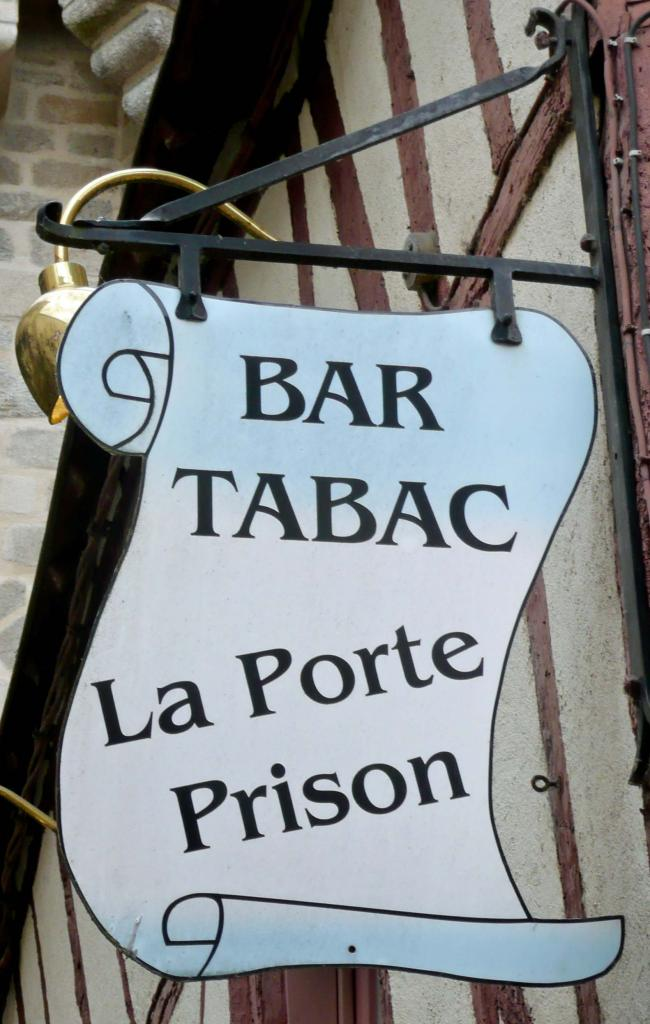 La Porte Prison (Bar tabac) - Vannes