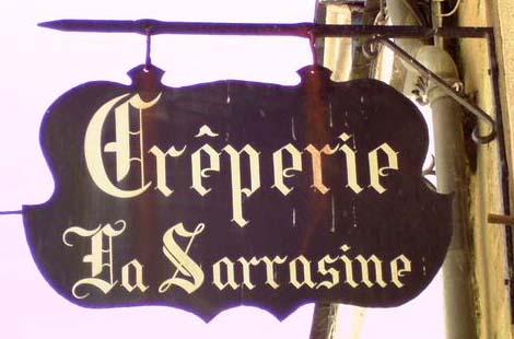 La Sarrasine (crêperie) - Rochefort en Terre