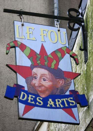 Le fou des arts (artiste) - Rochefort en Terre