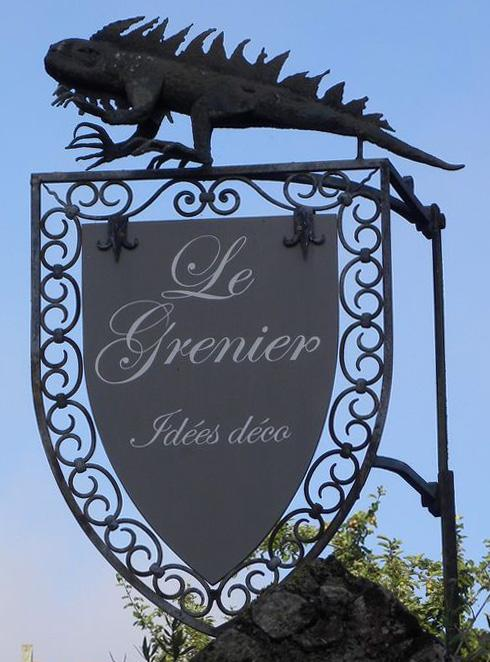 Le grenier (décoration) - Locronan