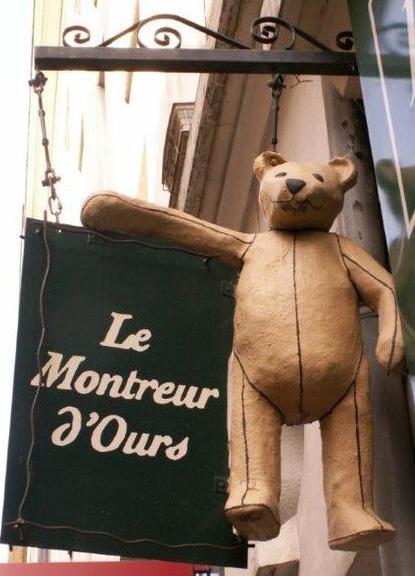 Le montreur d'ours (magasin de jeux et jouets) - Nantes