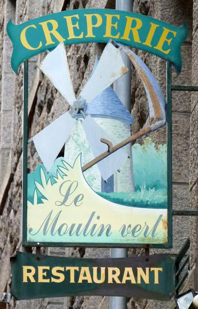 Le moulin vert (crêperie-restaurant) - Saint Malo