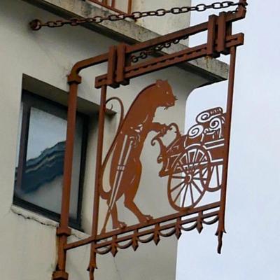 Le rat goutteux (marchand drapier) - Nantes