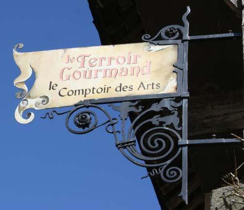Le terroir gourmand - le comptoir des arts (épicerie fine) - Rochefort en Terre