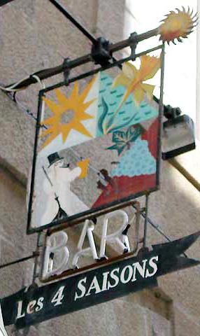 Les 4 saisons (bar) - Saint Malo