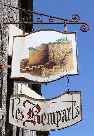 Les remparts (restaurant - Moncontour)