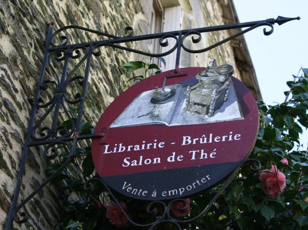 Librairie-Brûlerie-Salon de thé - Rochefort en Terre