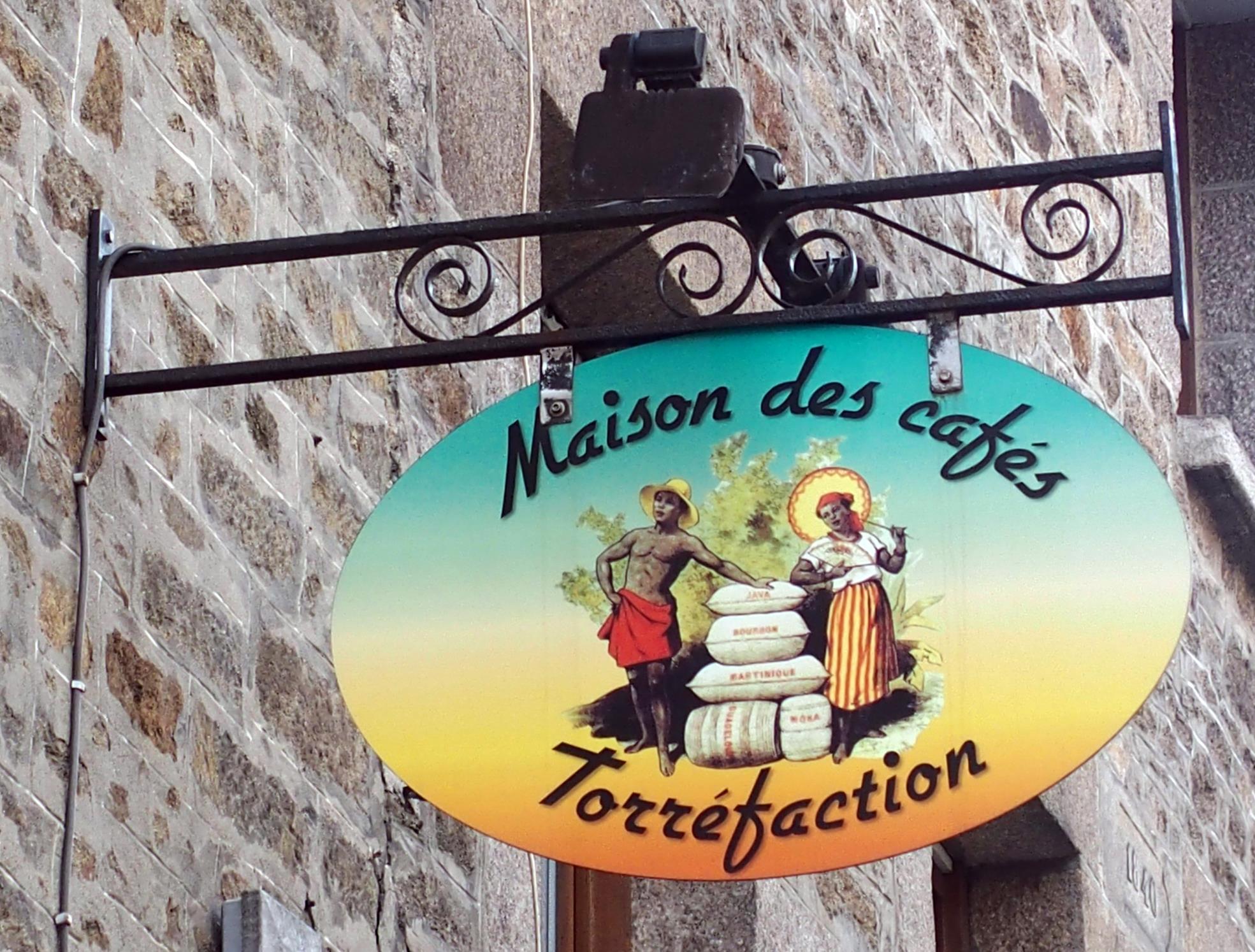 Maison des cafés - Torréfaction - Dinan
