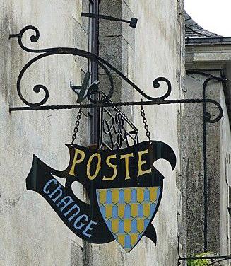 Poste, change - Rochefort en Terre
