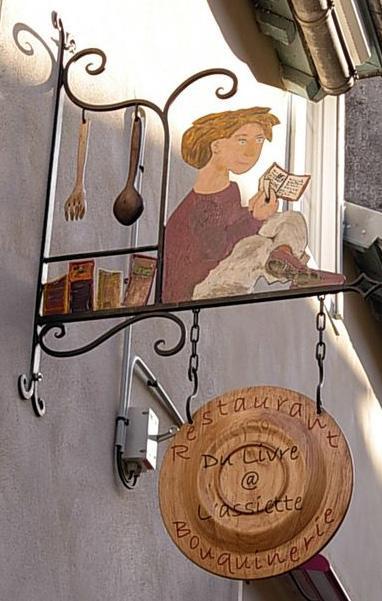 Restaurant-Bouquinerie - Landerneau