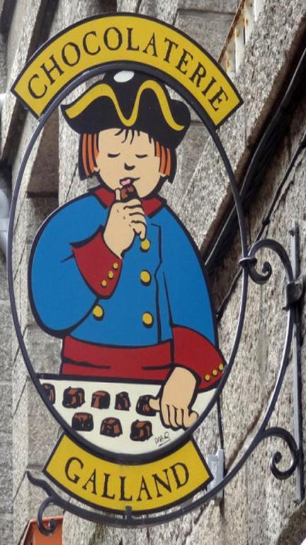 Saint Malo - Chocolaterie Galand
