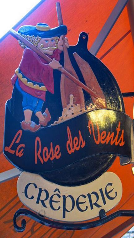 Saint Malo - Crêperie La rose des vents