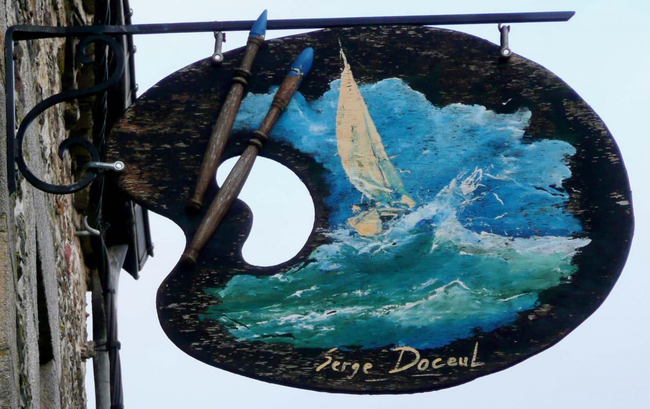 Serge Doceul (Artiste peintre) - Rochefort en Terre
