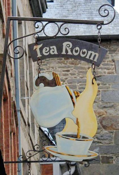 Tea room (salon de thé) - Dinan