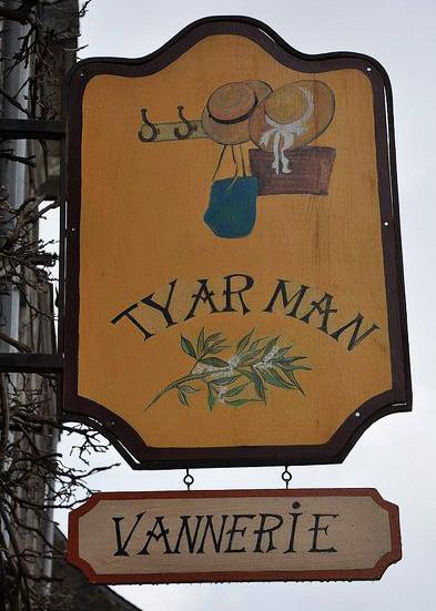 Tyar Man (vannerie) - Rochefort en Terre