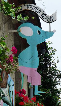 Une souris verte (artisan bijoutier) - Guérande